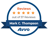 AVVO five star review rating Mark C. Thompson